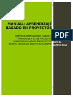 19 Aprendizaje Basado en Proyectos Final 17 de Noviembre 2013 (Autoguardado)
