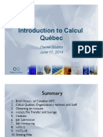 Calcul Quebec Presentation