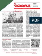 Periodico Granma enero 2017