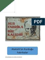 Atatürk'ün Açtığı Fabrikalar.pdf