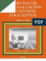 Cómo Hacer Una Evaluación de Centros Educativos