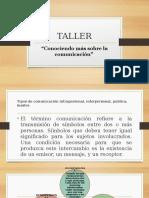 TALLER Tipos de comunicacion.pptx