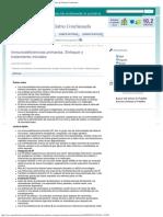 Inmunodeficiencias Primarias Enfoque y Tratamiento Iniciales Anales de Pediatr