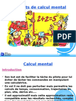 Elements Calcul Mental