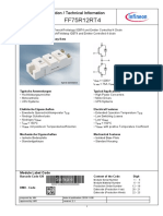 Infineon FF75R12RT4 Modulo Freno