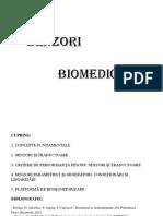 Curs 1 2016 Biosenzori