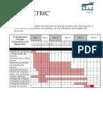 e74 1 Cronograma DIA Paque Fotovoltaico El Algarrobo