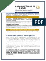 Proyecto Unidad 2 Primer Grado(2)