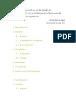 Validación Psicométrica de La Escala de Autoexpresión Universitaria Para Poblaciones de Preuniversitarios Españoles(1)