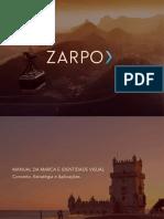 Manual de Identidade Visual - Zarpo