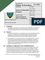 east havensecure communities program effective 07-01-2014