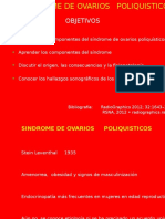 Síndrome de Ovarios Poliquisticos