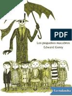 Los Pequenos Macabros (Ilustrado) - Edward Gorey