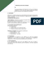 Informe Diseno de Tuberias Con Waterca