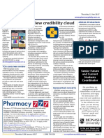 Pharmacy Daily for Thu 12 Jan 2017 - Review credibility cloud, Vic Pharmacy program opens, AMCAL Strokecheck program, Travel Specials and much more