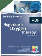 QLD HBOT Info Kit