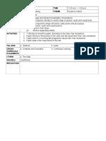 Form 1 Lesson Plan