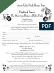 2007 Echo Park Home Tour Ticket Order Form