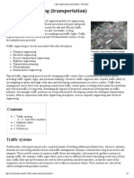 Traffic Engineering (Transportation) - Wikipedia