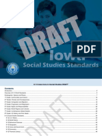 Social Studies Draft Standards