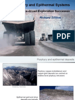 Porphyry and Epithermal Systems