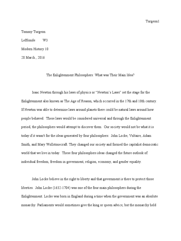 the enlightenment mini dbq essay age of enlightenment john locke