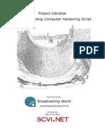 Gibraltar FreeBSD Hardening Script