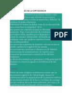 Generalidades de La Ortodoncia