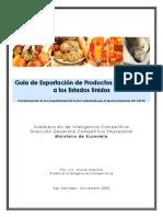 Guia Para Exportacion Alimentos EEUU