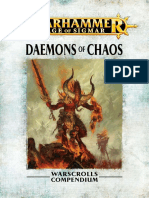 Warhammer Aos Daemons of Chaos It