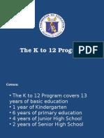 k to 12 Advocacy