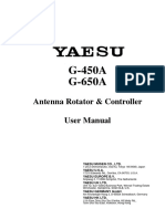 Yaesu G-450A Operating Manual