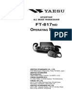 Yaesu - FT-817ND Operating Manual