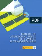 Manual Atencion Parto Extrahospitalario
