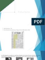 Futurismo Historia Del Diseño 2