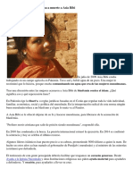 Causas y Efectos de La Condena a Muerte a Asia Bibi
