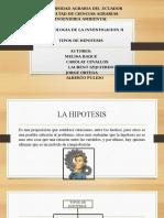 Metodologia Exposicion de Hipotesis