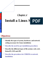 LPI 101 Ch04 Install a Linux System