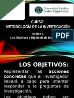 Sesion 4 - Metodologia de Investigación