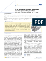 Insights Into CO2 and CH4 Adsorption by Pristine and Aromatic