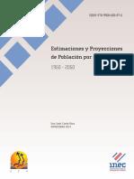 Estimaciones y Proyecciones de Poblacion