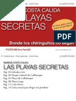 Las Playas Secretas de Murcia I -Donde los chiringuitos no llegan-