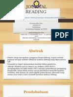 Journal Reading - Clara