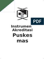 INSTRUMEN AKREDITASI PUSKESMAS