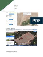 UBICACIÓN GEOGRÁFICA  - proyecto