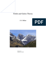 Milne - Fields and Galois Theory