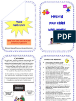 Numeracy Methods for Parents Levels 1-4