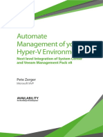Automate Management of Your Hyper-V Environment