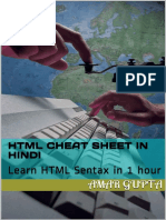 HTML Cheat Sheet in Hindi_ Lear - Amar Gupta