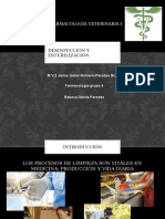 Esterilizacion y Desinfección